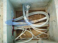 posa di cavi nei pozzetti di ispezione e derivazione
