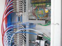 sistema elettrovalvole pneumatiche per filtro