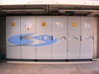 installazione degli armadi di potenza