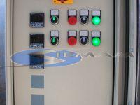 quadro elettrico di controllo temperatura nelle cisterne del bitume