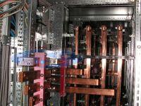 connessione in barre di rame