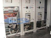 quadro elettrico di parallelo per 3 trasformatori