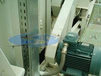 aspirazione del filtro impianto conglomerato