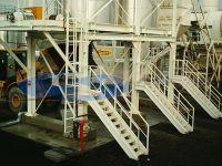 celle di carico su silos stoccaggio conglomerato