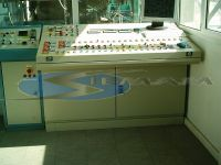 banco di comando impianto conglomerato